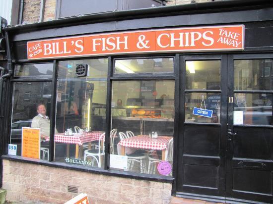 Bill's Fish and Chip Shop: Shopfront
