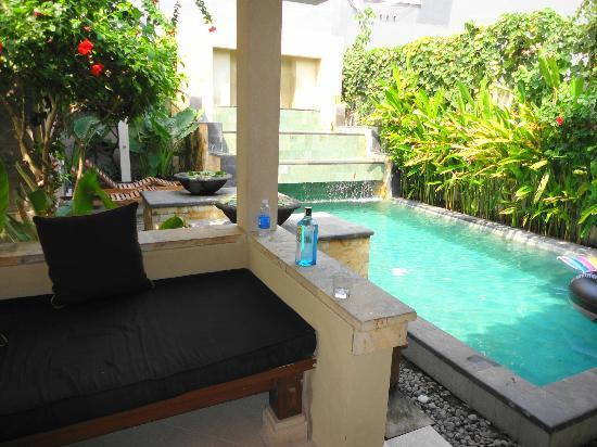 Villa Diana Bali: Pool as part of the Villa room