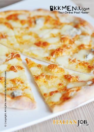 Italian Job Restaurant: Pizza4Cheeses