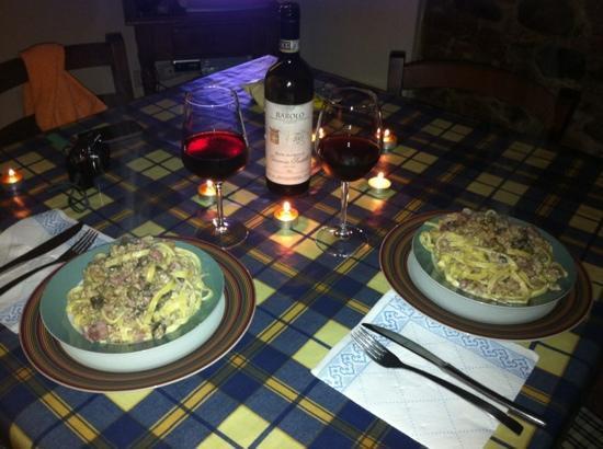Casolare dei Fiori: cena