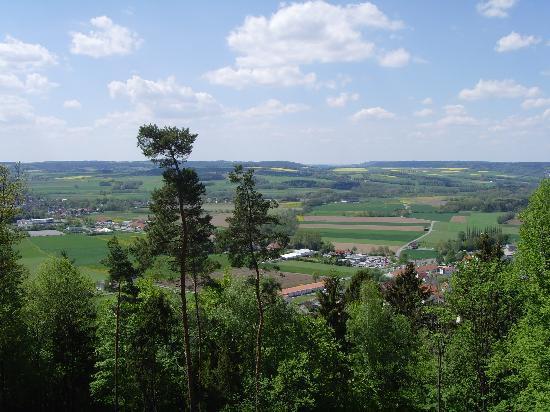 Reiterhof Bellevue Spa Resort: Blick vom Balkon