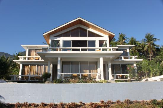 Amihan Del Sol : Beautiful villa. Reminds me of villas in Bali.