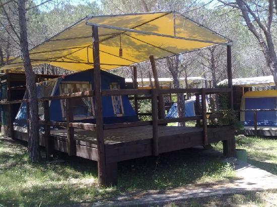 Amfibie Treks: tenda de luxe