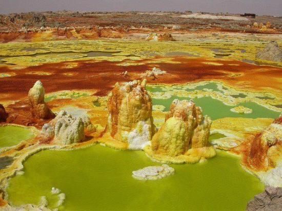 Dalol etiopia i colori di terra picture of dalol - Immagine di terra a colori ...