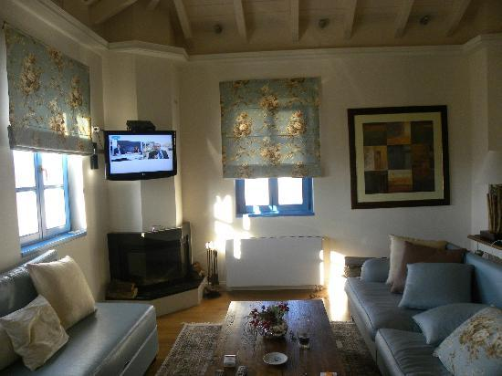 Zagori Suites Hotel: σαλονι