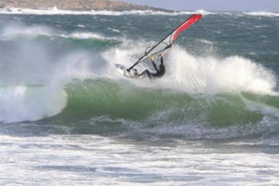 Wind Surfing in Belmullet