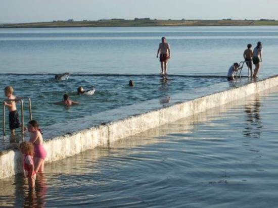 Belmullet, Irland: Out Door Pool