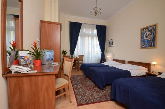 Budapest City Central: Standard Triple Room