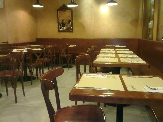 Restaurante La Vaca Paca: interno