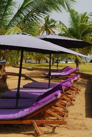 Lou Moon Lodge: Relaxing beach