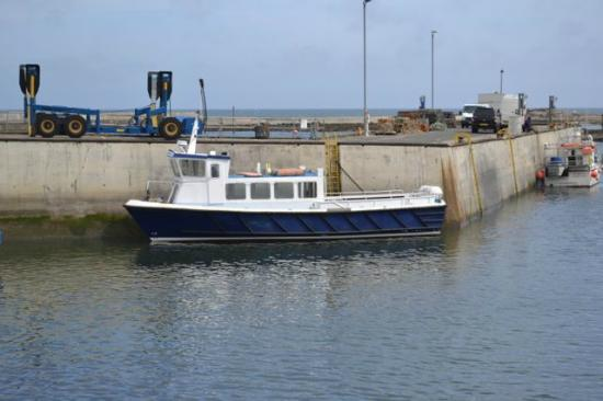 Seahouses, UK: Our boat for the Farne Island tour