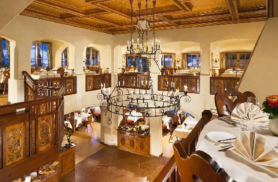 BEST WESTERN PLUS Berghotel Rehlegg: Restaurant