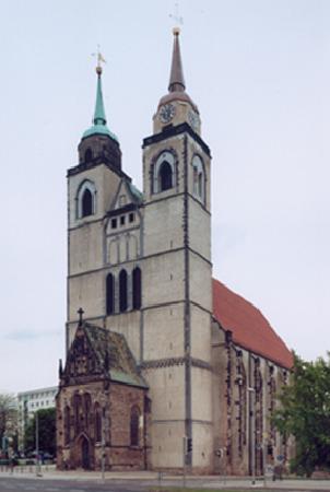 Μαγδεβούργο, Γερμανία: Aussichtsplattform auf dem Südturm