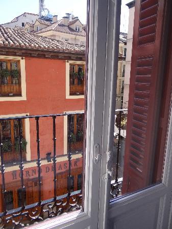La Posada del Dragón: balcony