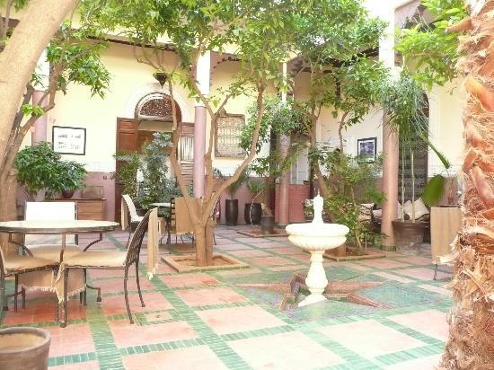 Riad Dar Nejma: patio