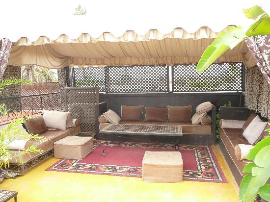 Riad Dar Nejma: terrasse