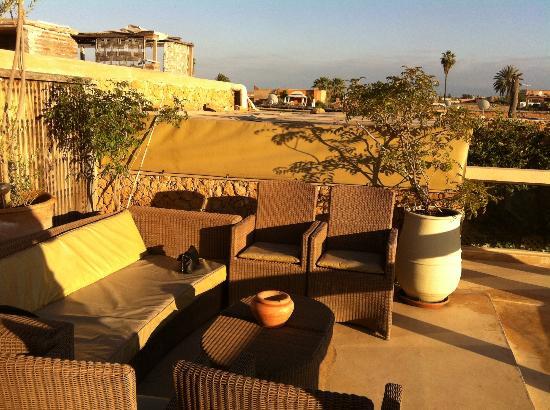 Riad Marrabahia: La Terrasse (vue n°2)