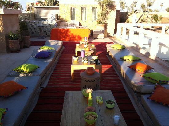 Riad Marrabahia : la Terrasse (vue n°1)