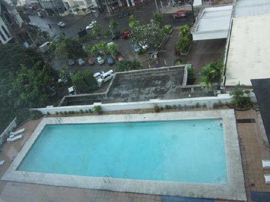 Apo View Hotel: プ-ルも有ります