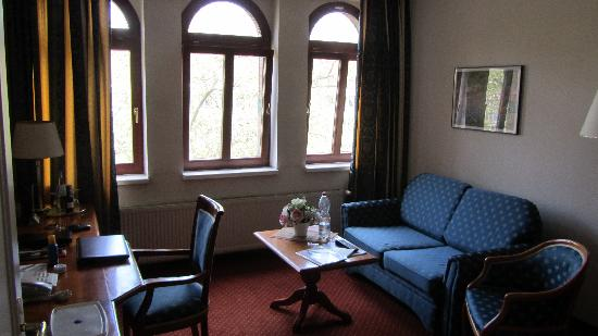 Hotel Artushof: living room
