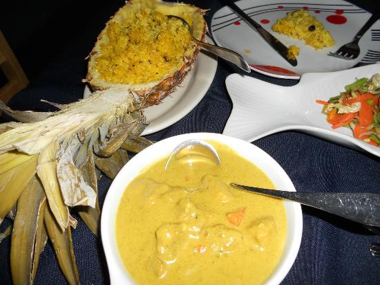 Tuko Beach Resort: delightful meal