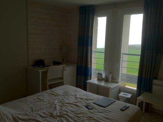 Hotel Vent D'Iroise : chambre avec vue sur mer