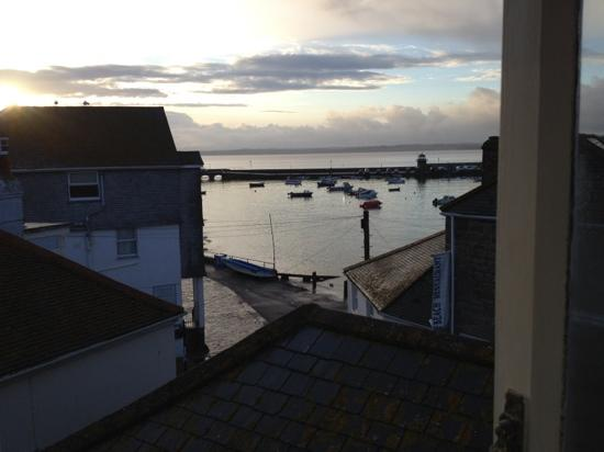 Grey Mullet: the view from our bedroom