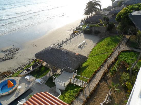 Villa de Los Suenos: View from roof deck, highest on the coast.