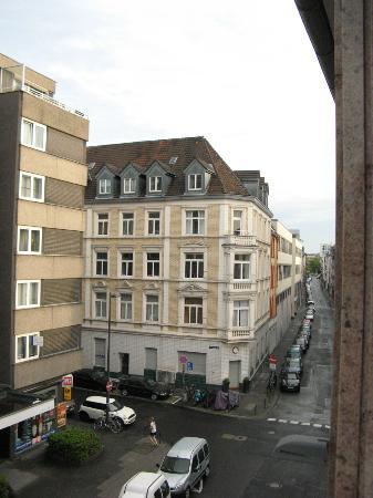 Hotel DomBlick: view from 3d floor