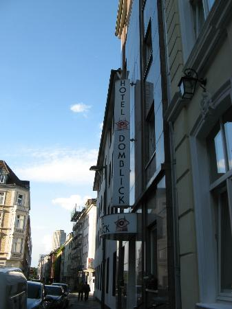 Hotel DomBlick: signboard