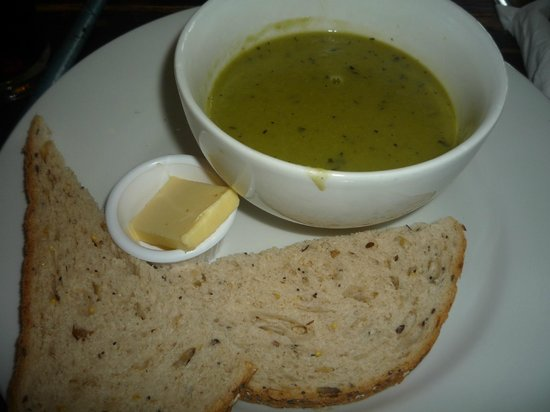 The Church Mouse: PEA AND MINT SOUP
