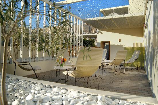 Herodion Hotel Roof Garden