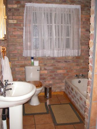 Thaba Tsweni Lodge & Safaris: salle de bain avec baignoire