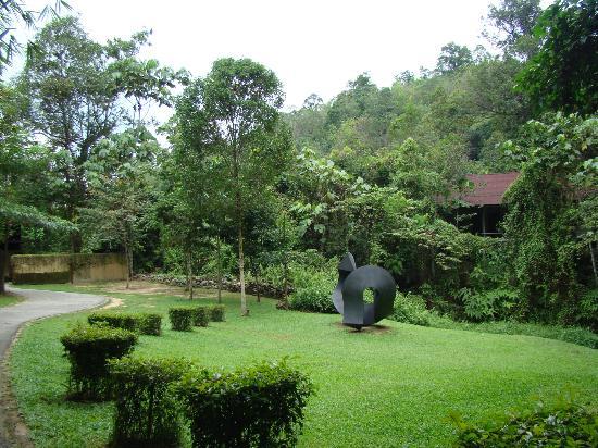Sekeping Serendah Retreat: entrance
