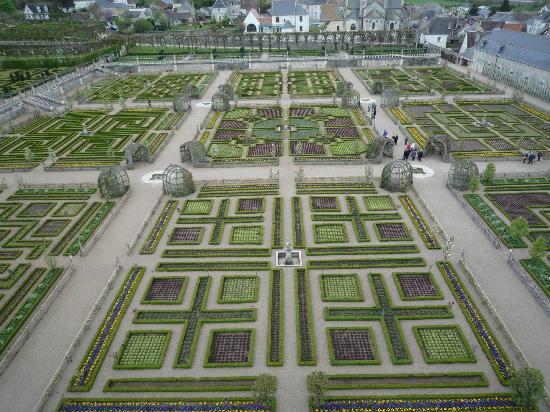 Villandry, France : Le potager
