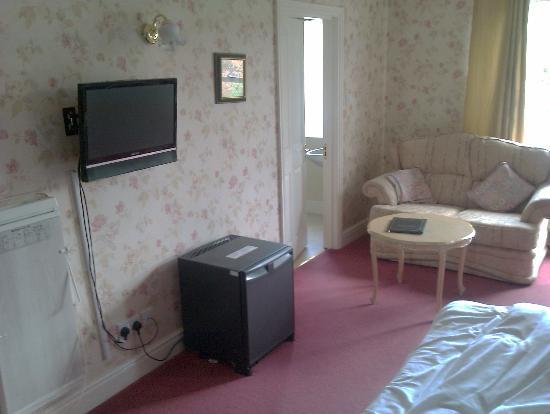 Quorn Lodge Hotel: Bedroom