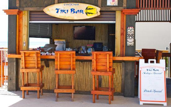Gulf Crest: Tiki Bar