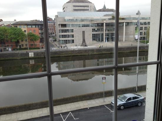 Inn on the Liffey: view from dining room