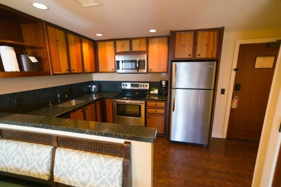 full kitchen in suite - Picture of Aulani, A Disney Resort & Spa ...