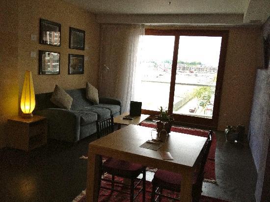 Inn at The Black Olive: living room