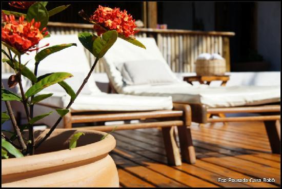 Eco-Pousada Casa Bobo: sunbathing, rest..take a relax view of the virgin beaches..