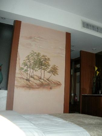 Unisplendour International Center Hotel : Artwork in room
