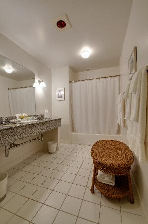 Minnewaska Lodge: Suite Bathroom