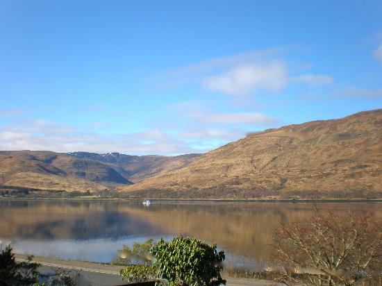 Burnlea Bed & Breakfast: View from Burnlea