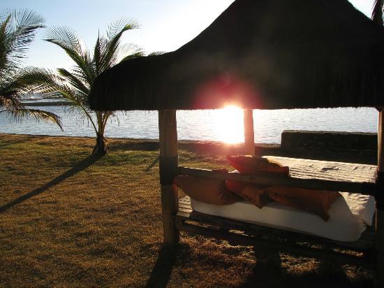 Arraial D'Ajuda Eco Resort: Bangalo, no fim de tarde