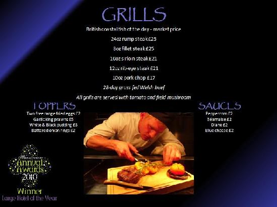 The Kings Grill and Cocktail Lounge: Grills
