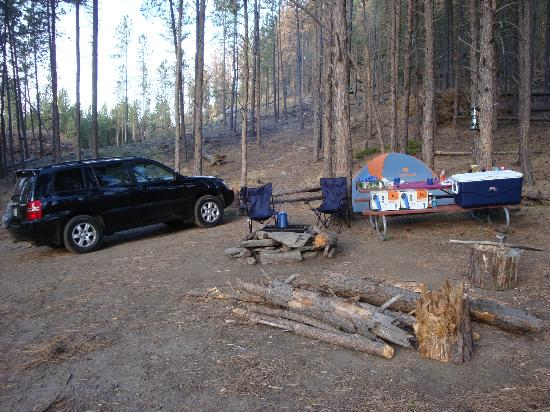 Horse Thief Campground: Our campsite