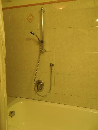 Hotel Lux: Shower and Tub