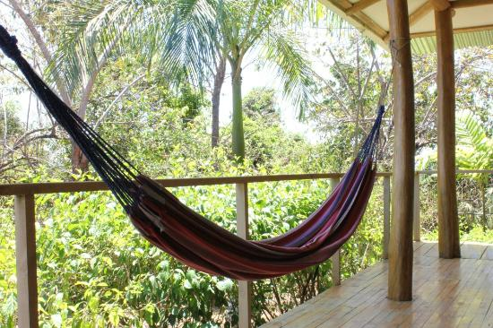 Agua Vista: Hammock on the porch