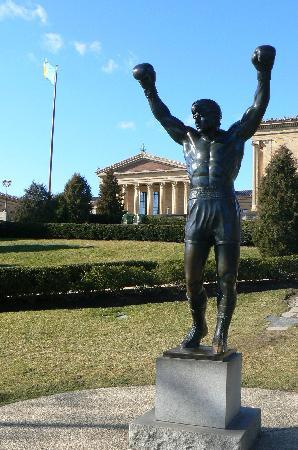 Rocky Statue: Rocky